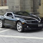 DR ROD Hire Chev Camaro Black 1