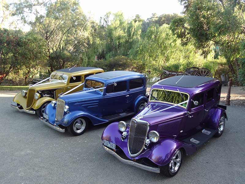 1934 Ford Sedan Modern Classic Hot Rod Hire Melbourne