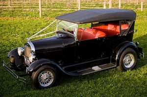 1928 Ford A-Model Tourer - Black
