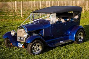 1928 Ford A-Model Tourer Pearl Blue