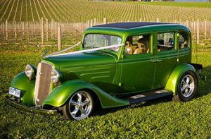 1934 Chev Sedan Hot House Green