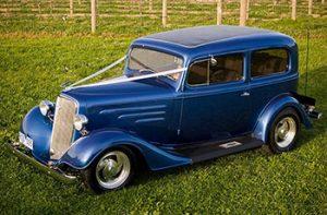 1934 Chev Tudor Blue