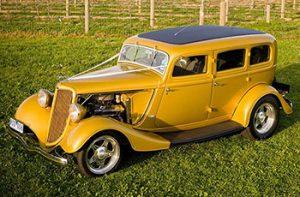 1934 Ford Sedan Gold