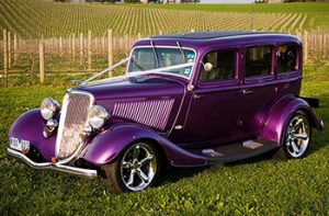 1934 Ford Sedan Pearl Purple
